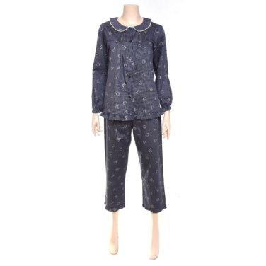 와코루 로고 여성 면잠옷WPA2378