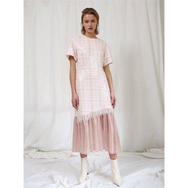 [더애쉴린] CHARLOTTE SEQUINED PEARL DRESS