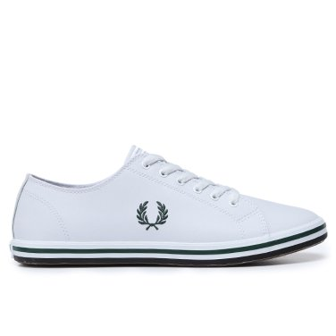 FRED PERRY  Kingston Leather 남여공용 스니커즈 SFPU1937163-100