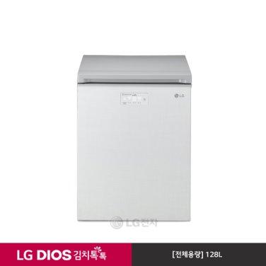 DIOS 뚜껑식 김치냉장고 (128L/린넨화이트)