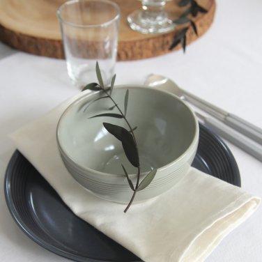 [윤도자기] 모던 한식 플레이팅 그릇 - 대접 (5컬러택1)