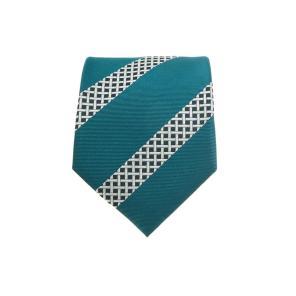 [2020 S/S 남자선물추천] 블루 패턴배색 실크 넥타이 MANE0E111B5