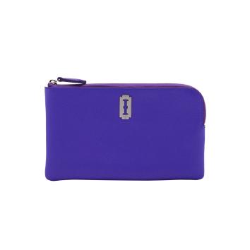 [vunque] Magpie Zipper Pouch (맥파이 지퍼 파우치) Royal purple_VQB01WL2041