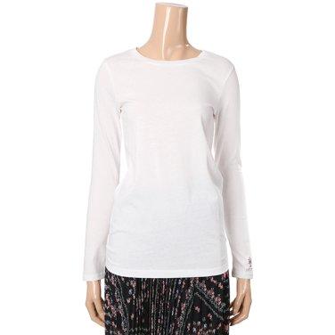 [여성]싱글 긴팔 기본 이너 티셔츠(T192MTS131W)