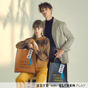 [SF9 영빈,홍서영,안형섭 착용] BBYB MARCE Unisex Tote Bag (Jade Black) (09H3110B5K)
