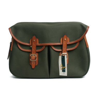 BRADY BAGS Large ARIEL TROUT Fishing Bag Olive