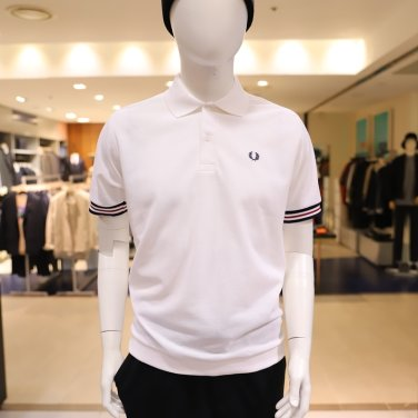 [S/S상품]Bomber Stripe Rib Pique Shirt보머 스트라이프 립 피케 셔츠 AFPM1911748-J10