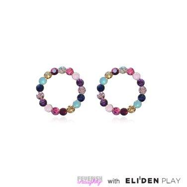 [피버리쉬앤너티] POP HOOP EARRINGS-GOLD (PH1E1)