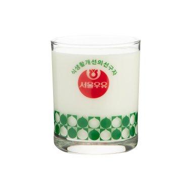 [무료배송]서울우유 레트로컵6종 - 흰우유(식생활개선)