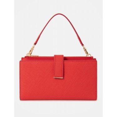 루시 핸드폰 지갑 - Red (BE01A4M516)
