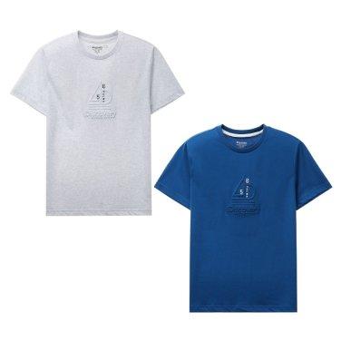 그래픽엠보 라운드 티셔츠 DXRT7V831