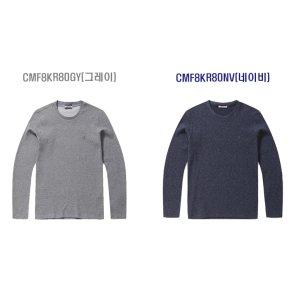까르뜨블랑슈 와플 조직 라운드 티셔츠 CMF8KR80