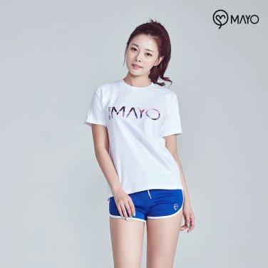 면 티셔츠 화이트 MY7TS32WH
