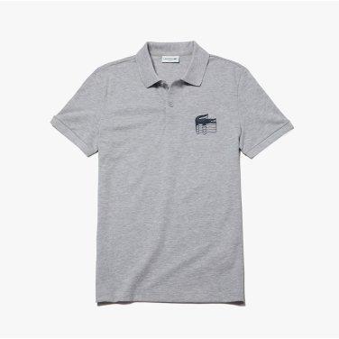 (남성) 3D 크록 코튼 쁘띠 피케 폴로 셔츠 PH6402-19B_CCA_KR217