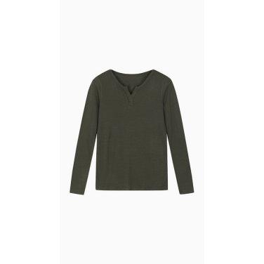 슬릿넥 골지 티셔츠 (BATS98911)