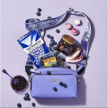 (SUMR01911X-VO) PANINI METAL LOGO SOLID BAG