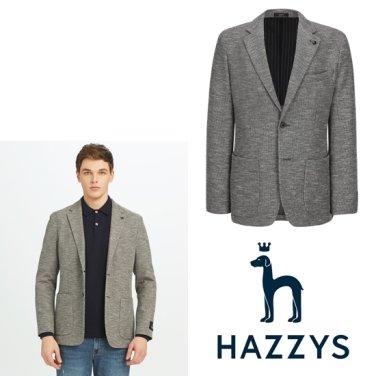 [상품권증정]헤지스 멜란지 면혼방 캐주얼자켓 HZJA9A233