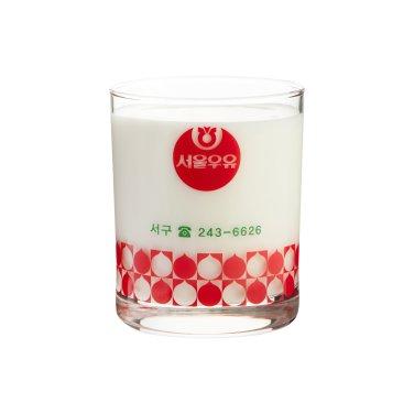 [무료배송]서울우유 레트로컵6종 - 딸기맛우유(서구대리점)