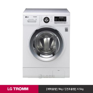 TROMM 6모션 드럼세탁기 FR9WK (9kg/화이트/6모션)