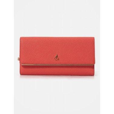 루시 3단 장지갑 - Red (BE01A4T016)