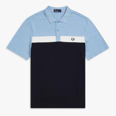[S/S상품]컨트라스트 패널 피케 셔츠Contrast Panel Pique Shirt(444)AFPM1915577
