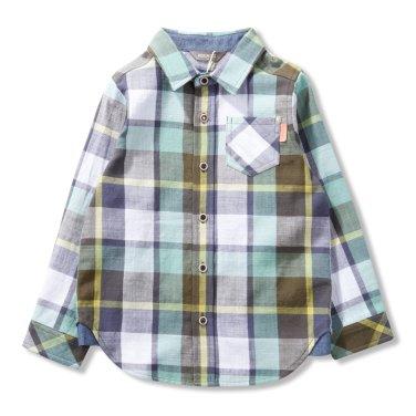 남아빈티지 체크 셔츠(P1912B321_12)