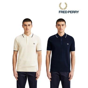 [S/S상품]텍스처 프론트 니트 셔츠 2종 AFPM1915521