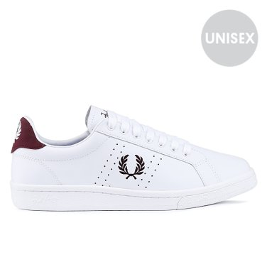 FRED PERRY B721 Leather(300)  SFPU1837211-300 남여공용 레더스니커즈