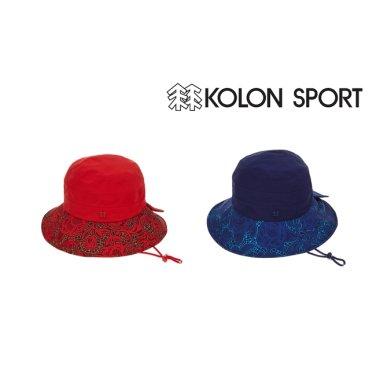 여성 배색 프린트 HAT (QYRFW17011RED,RBU)