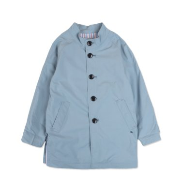 BT13CT02BU남아 블루 스팬카라 코트
