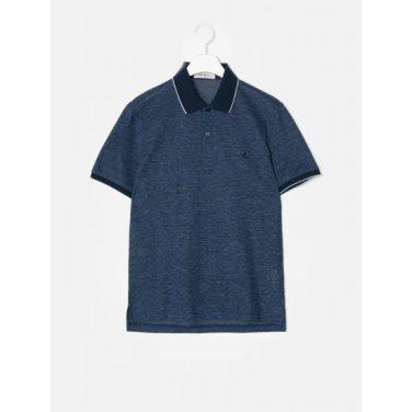 블루 딜라이트 리넨 칼라 티셔츠 (BC9342A20P)