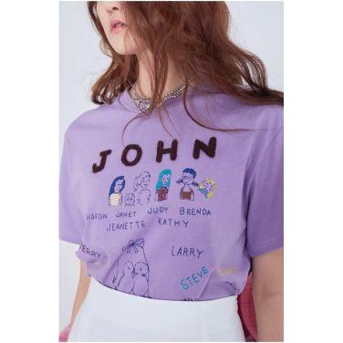 John lettering top(FA19PSTO006)