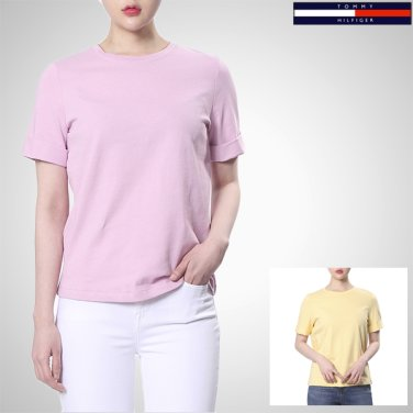TFMT1KOE52A0(코튼 루즈핏 크루넥 티셔츠)