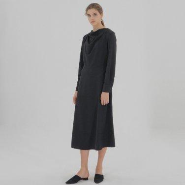 Drape Dress - Black