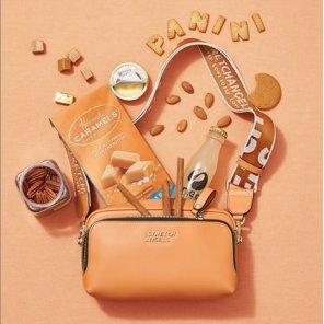 (SUMR01911X-CA) PANINI METAL LOGO SOLID BAG