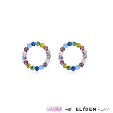 [피버리쉬앤너티] POP HOOP EARRINGS-SILVER (PH2E1)