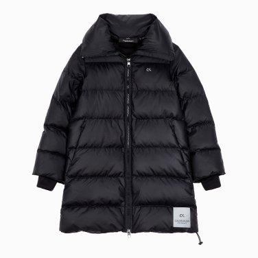 여성 로고 테이핑 디렉셔널 다운 자켓 4WH9O563-007