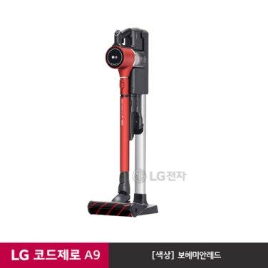 LG 코드제로 핸디스틱 A9 청소기 A938RA (보헤미안레드/스마트인버터모터)