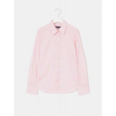 [Online Exclusive] 라이트 핑크 솔리드 베이직 셔츠 (BF9264N01Y_)
