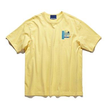 아고스톤 콜라보 유니크 자수 티셔츠 CQTAM18471YEX