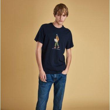 Josh.P Tee 1 조쉬 티셔츠1 네이비(BAI1MTS0506NY91)