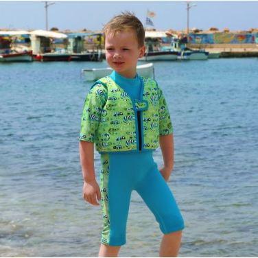 스플래시어바웃 아동수영복 고스플래시 수영조끼 그린게코EL