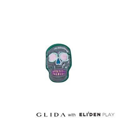 [그리다] GLIDA PATCH-Green Skull (PT-SG)