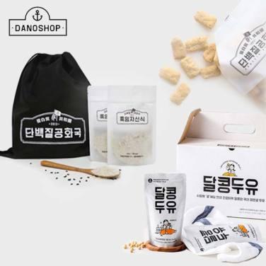 [다노샵] 건강한 관리! 단백질공화국 흑임자선식/마이다노 홈트매트/두유外