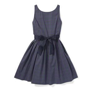 폴로 랄프 로렌 칠드런 플래드 핏앤플레어 드레스 (CWPODRSG3M10161D70)
