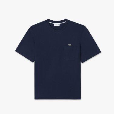 [엘롯데] 남성 포켓 라운드 반팔 티셔츠 LCST TH302E-19B9N0