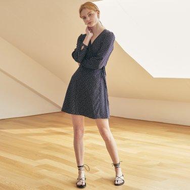 JE Wrap Mini Dress_NV