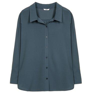 솔리드 오버핏 셔츠 TWWSTJ70100