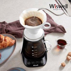 WC2901 스마트 전자핸드드립 3in1 커피메이커