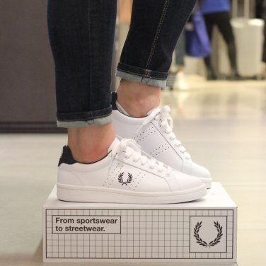 FRED PERRY B721 Leather(100) SFPU1837211-100